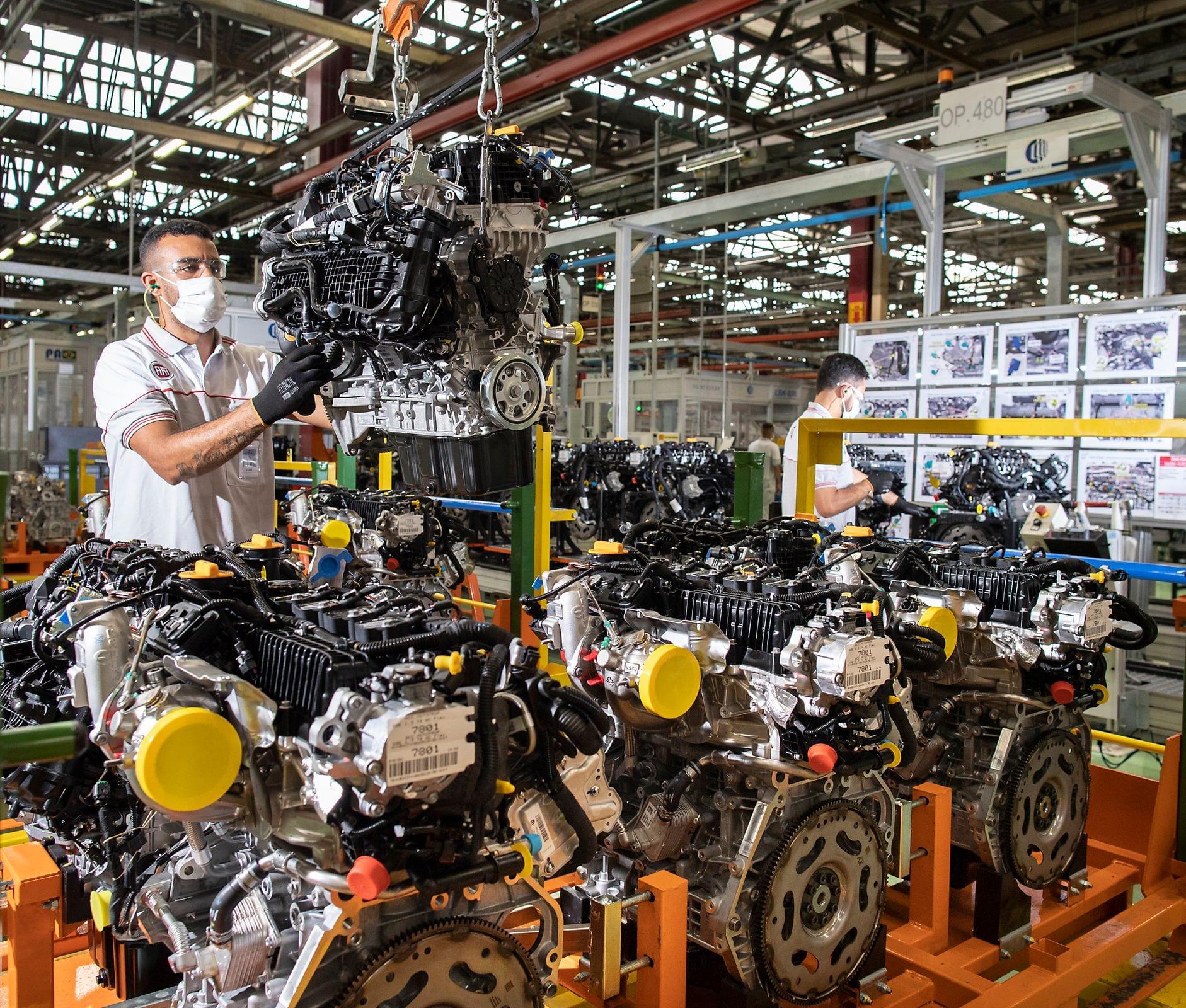 Planta da Stellantis em Betim pronta para produzir família global de motores turbo Ponta da linha Foto Leo Lara large