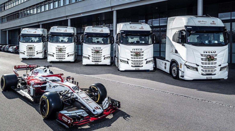 Caminhões IVECO entram para a frota da equipe Alfa Romeo Racing ORLEN 583670