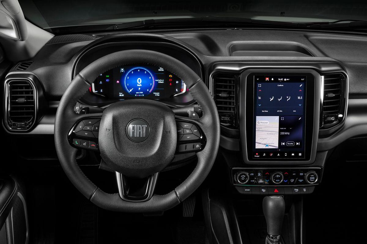 Nova Fiat Toro: referência em design, picape traz estilo ainda mais moderno em sua primeira evolução Toro Volcano 0039 medium