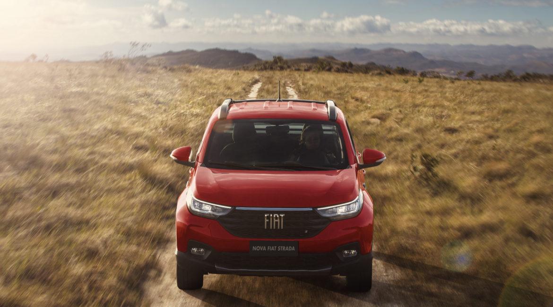 Fiat alcança liderança inédita no mercado da América do Sul NovaFiatStrada 1