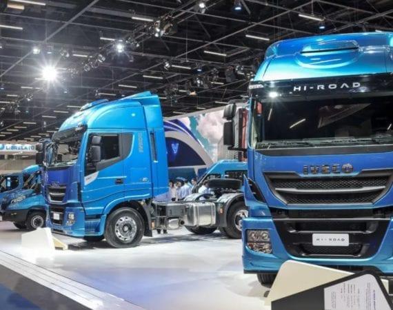 Iveco amplia vendas e vai testar caminhões a gás no Brasil