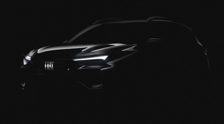 Fiat revela detalhe de seu novo SUV Progetto363frontal