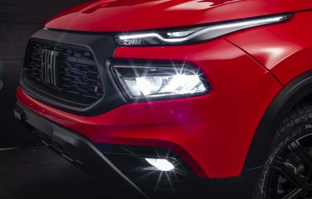Nova Fiat Toro - Faróis Full LED