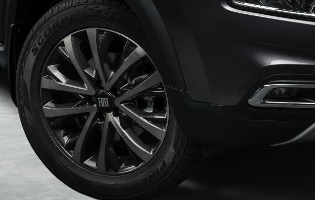 Nova Fiat Toro - Design das Rodas