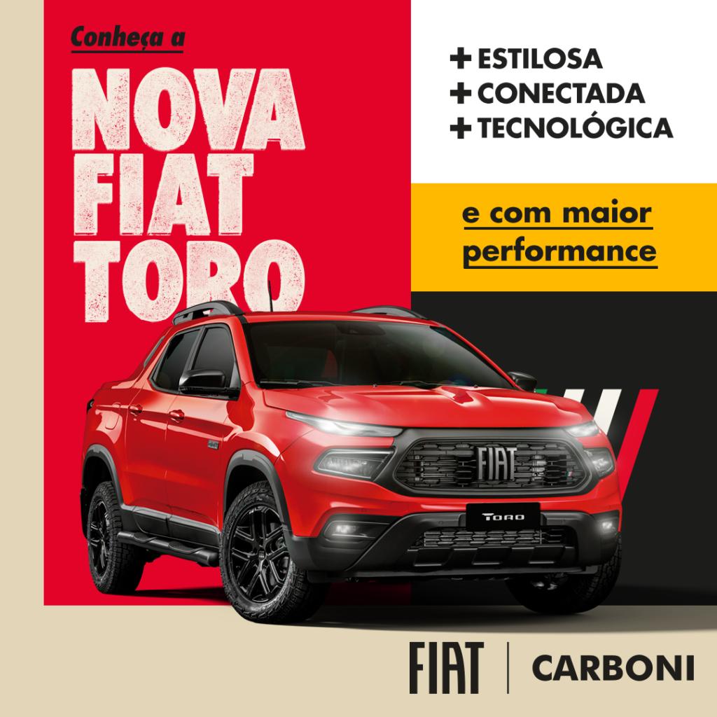 post 5 Live Nova Fiat Toro - Concessionária e Revenda Autorizada Fiat em Santa Catarina, SC   Carboni Fiat
