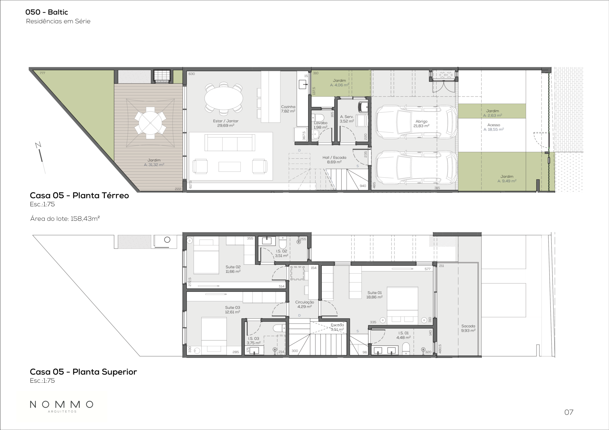 Planta - Casa 05