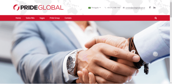 Pride Global Brasil – Site