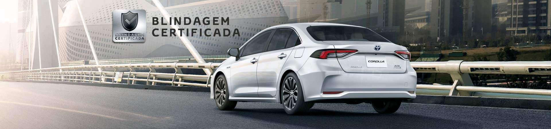 Blindagem Certificada Toyota