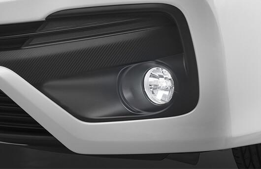 Kit de lâmpadas de luz branca para faróis de neblina
