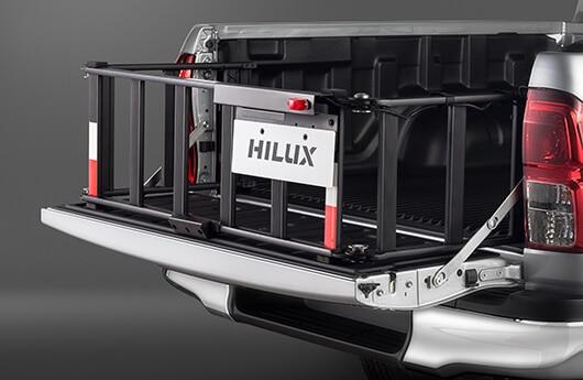 Extensor de caçamba com rampa - Hilux Cabine Dupla