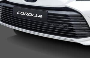Aplique cromado do para-choque dianteiro - Corolla