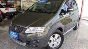 FIAT IDEA 1.8 MPI ADVENTURE 8V FLEX 4P MANUAL 2008/2008