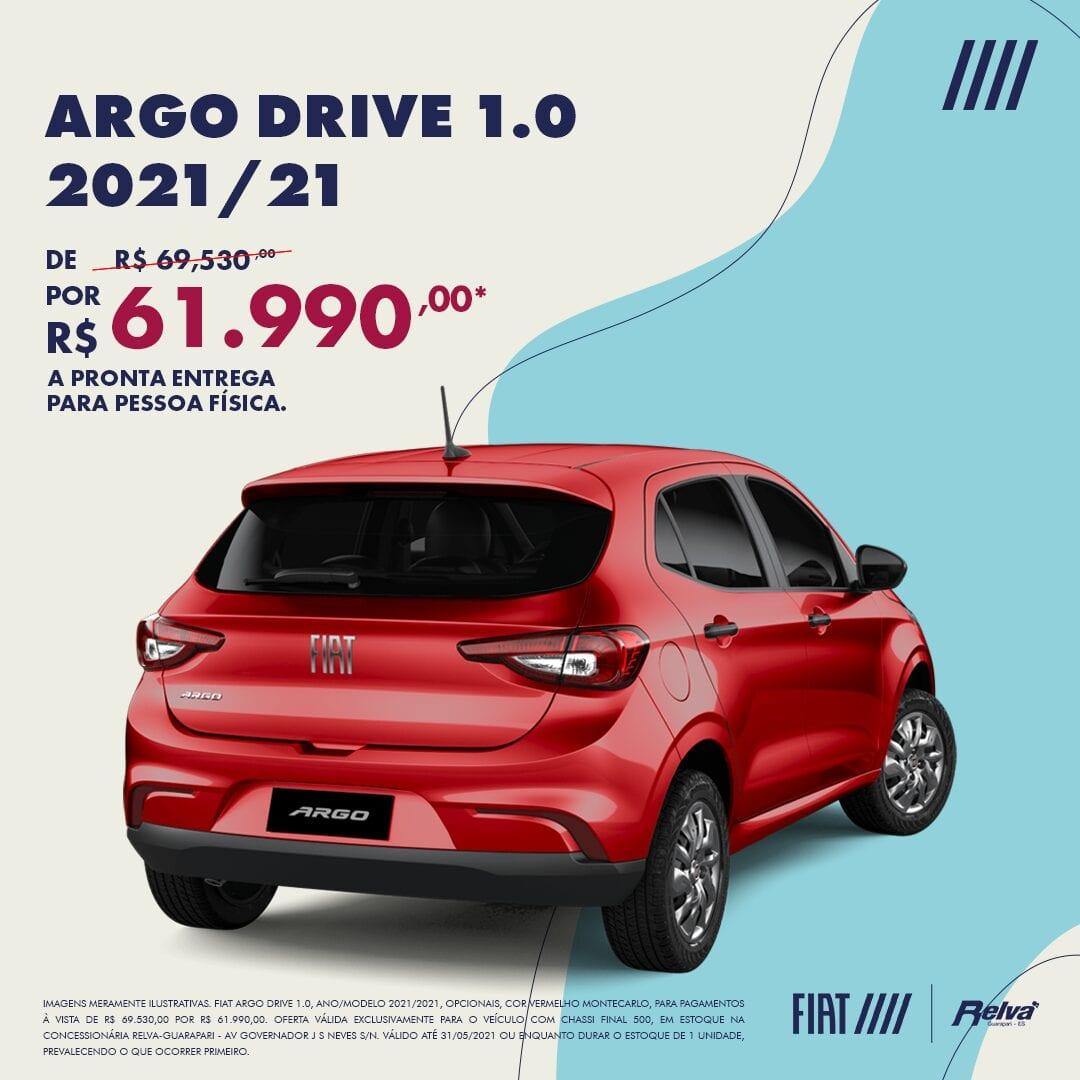 RELVA ARGO DRIVE Lead Ads MAIO - Relva Veículos