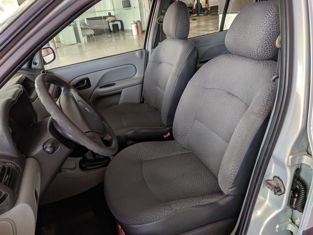RENAULT CLIO 1.6 AUTHENTIQUE 16V FLEX 4P MANUAL 2007/2008