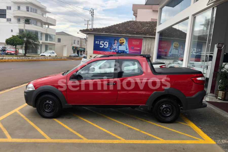 FIAT STRADA HARD WORKING CD 2017/2018