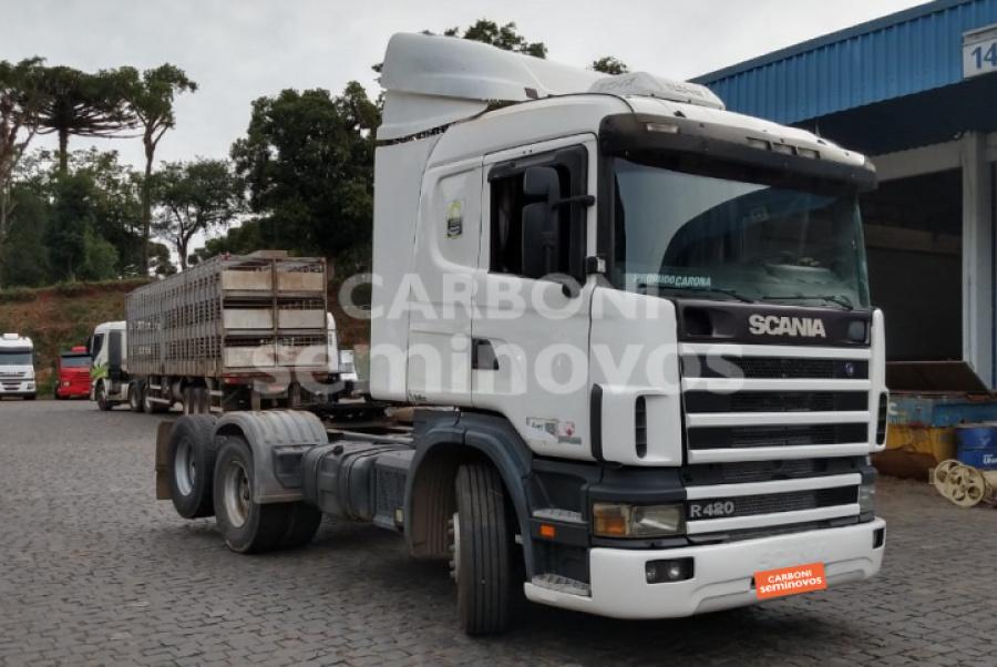 SCANIA R124 GA NZ 420 2007/2008