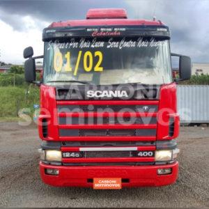SCANIA R124 LA 6X2 NA 400 2001/2002