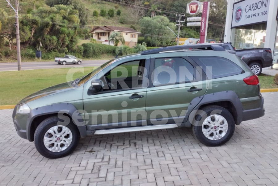 FIAT PALIO WEEKEND ADVENTURE DUAL 2011/2012