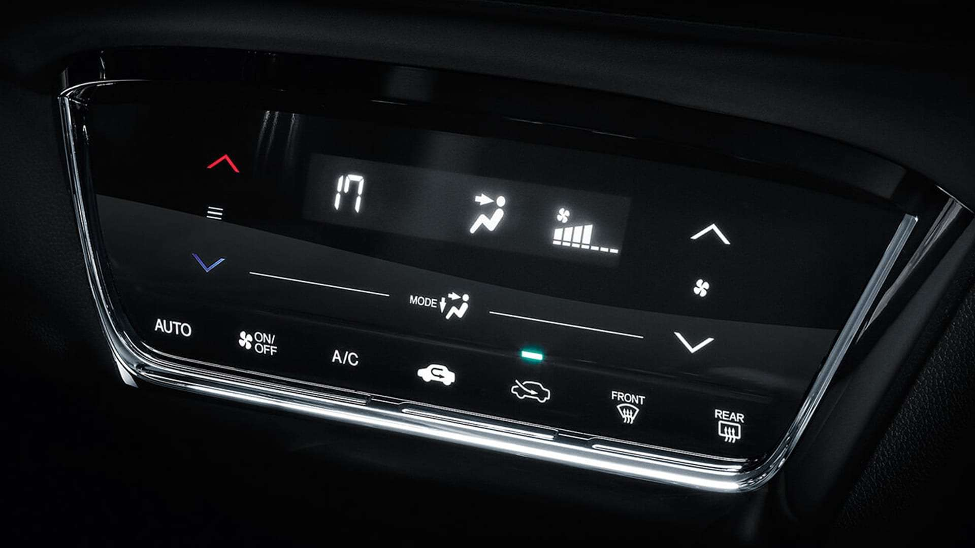 HR-V - Ar condicionado digital full touchscreen