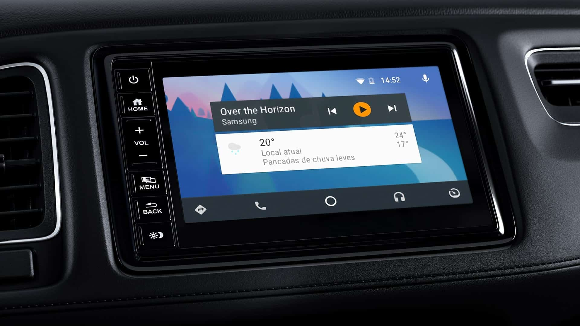HR-V - Inteface intuitiva Google Android Auto