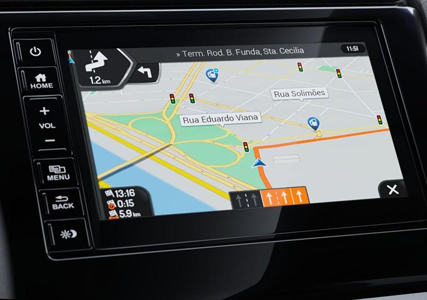 Honda WR-V 2021 - Navegador GPS
