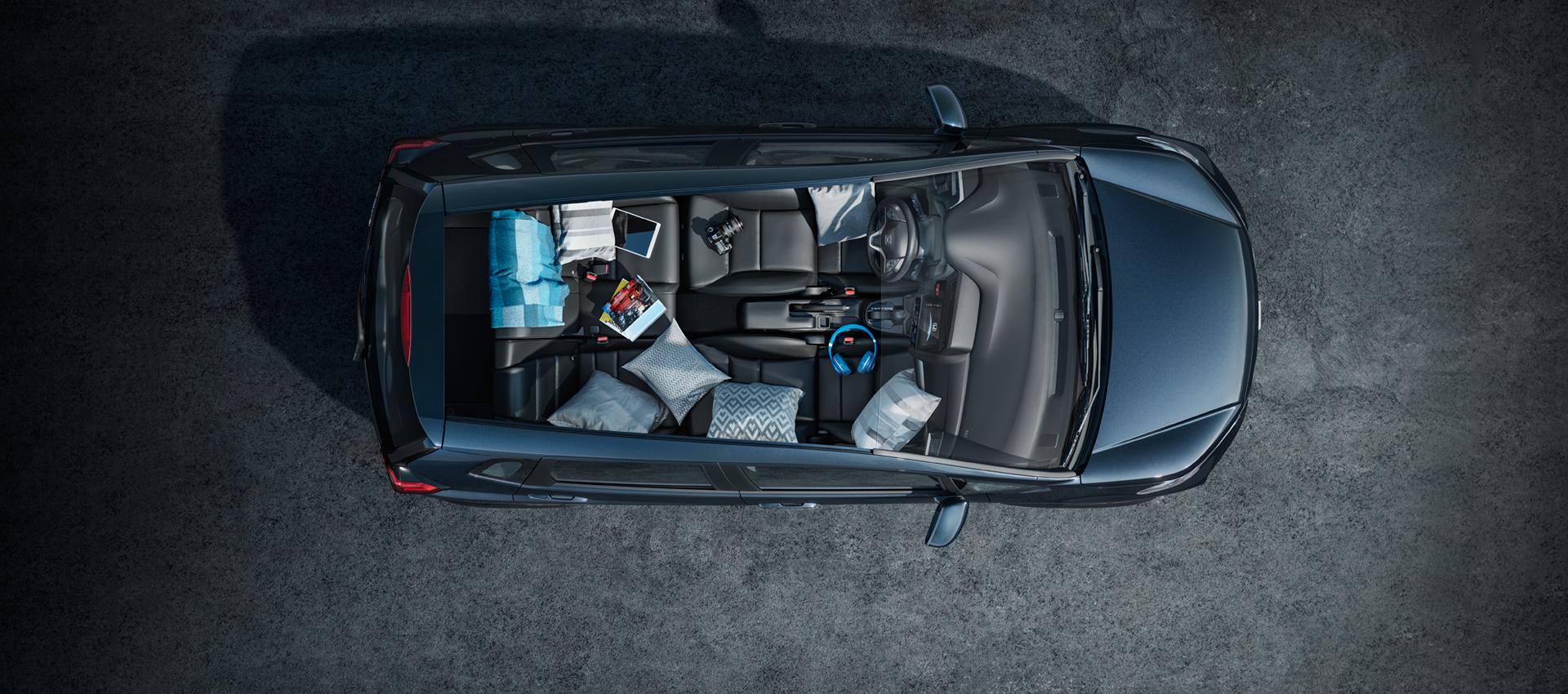 Honda WR-V 2021 - Magic Seat - Modo Refresh