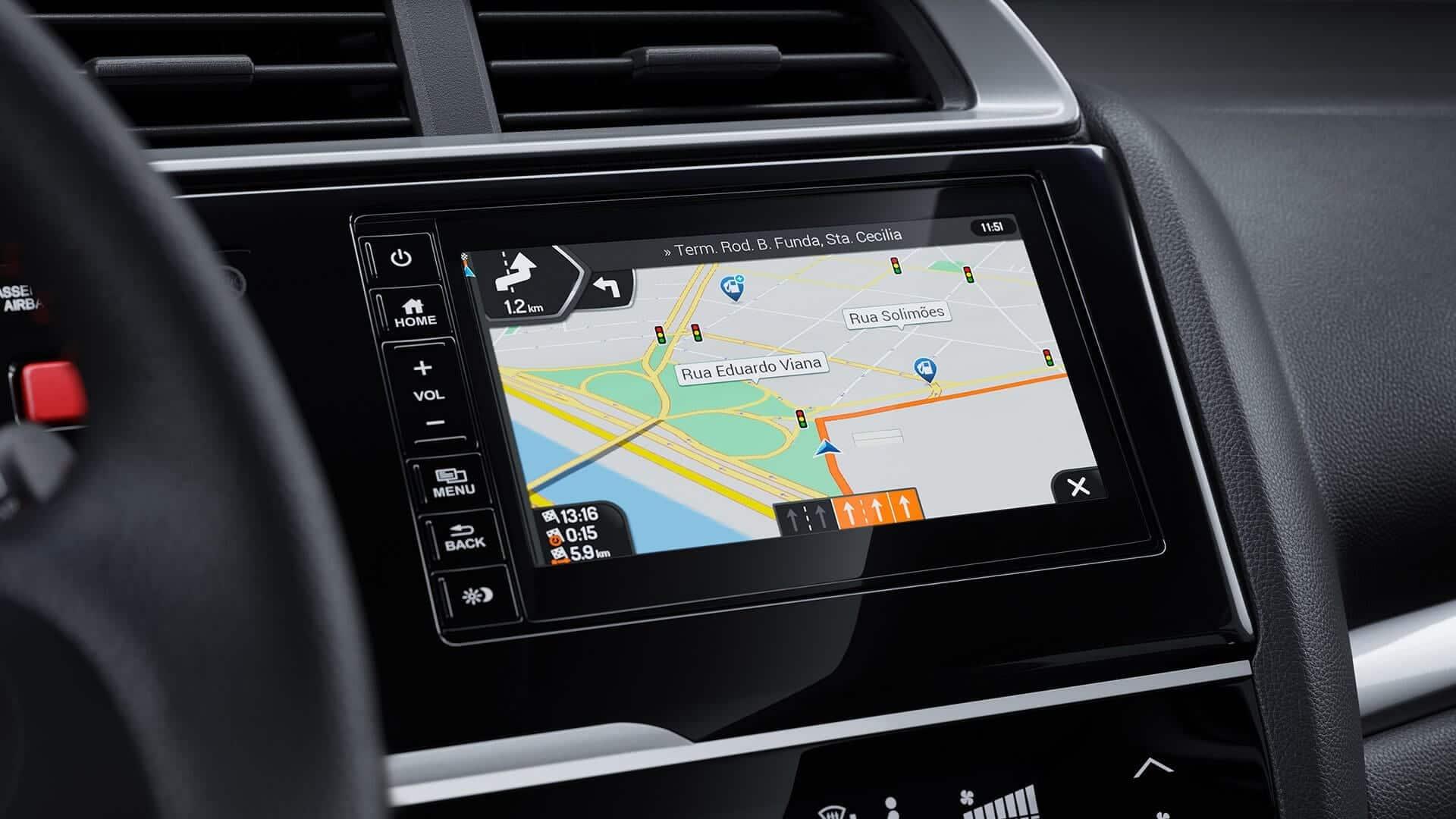 WR-V - Navegador GPS com multivisão