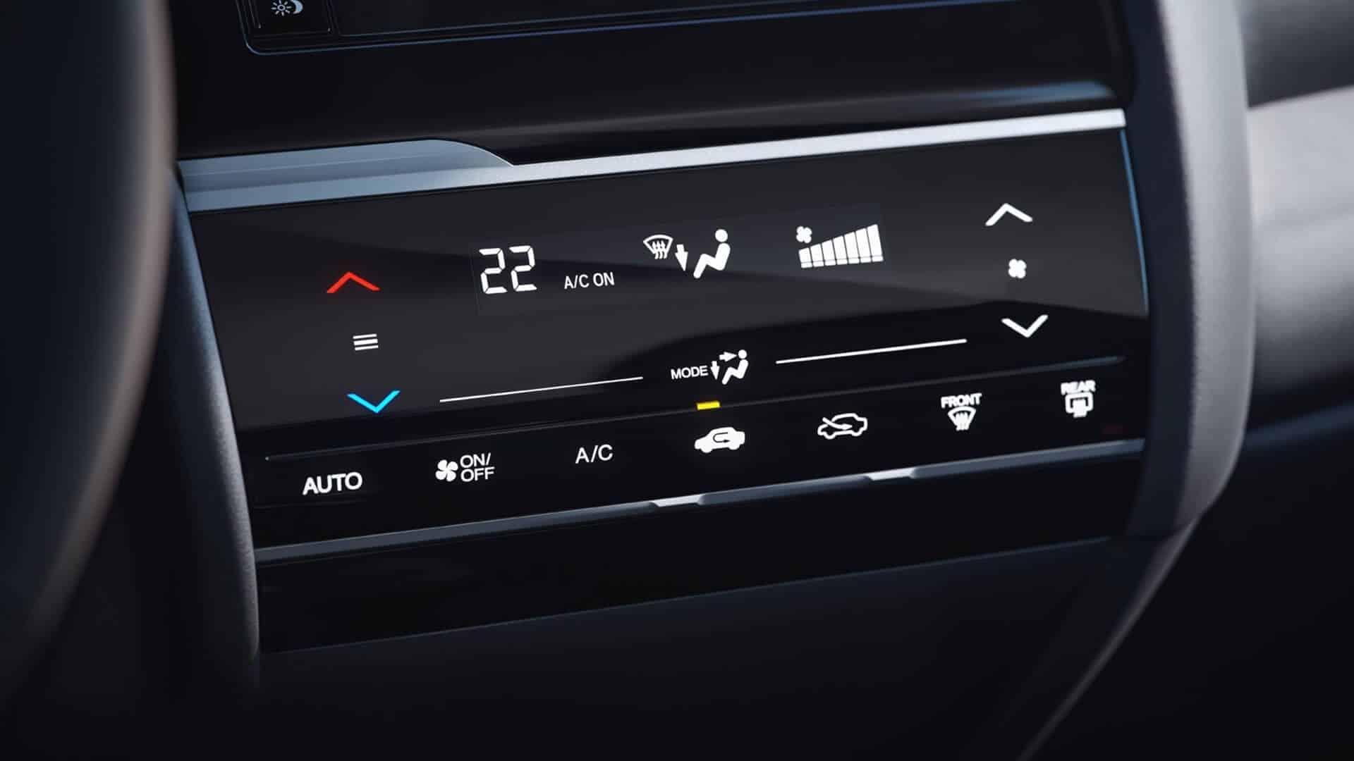 WR-V - Ar-condicionado digital full touchscreen
