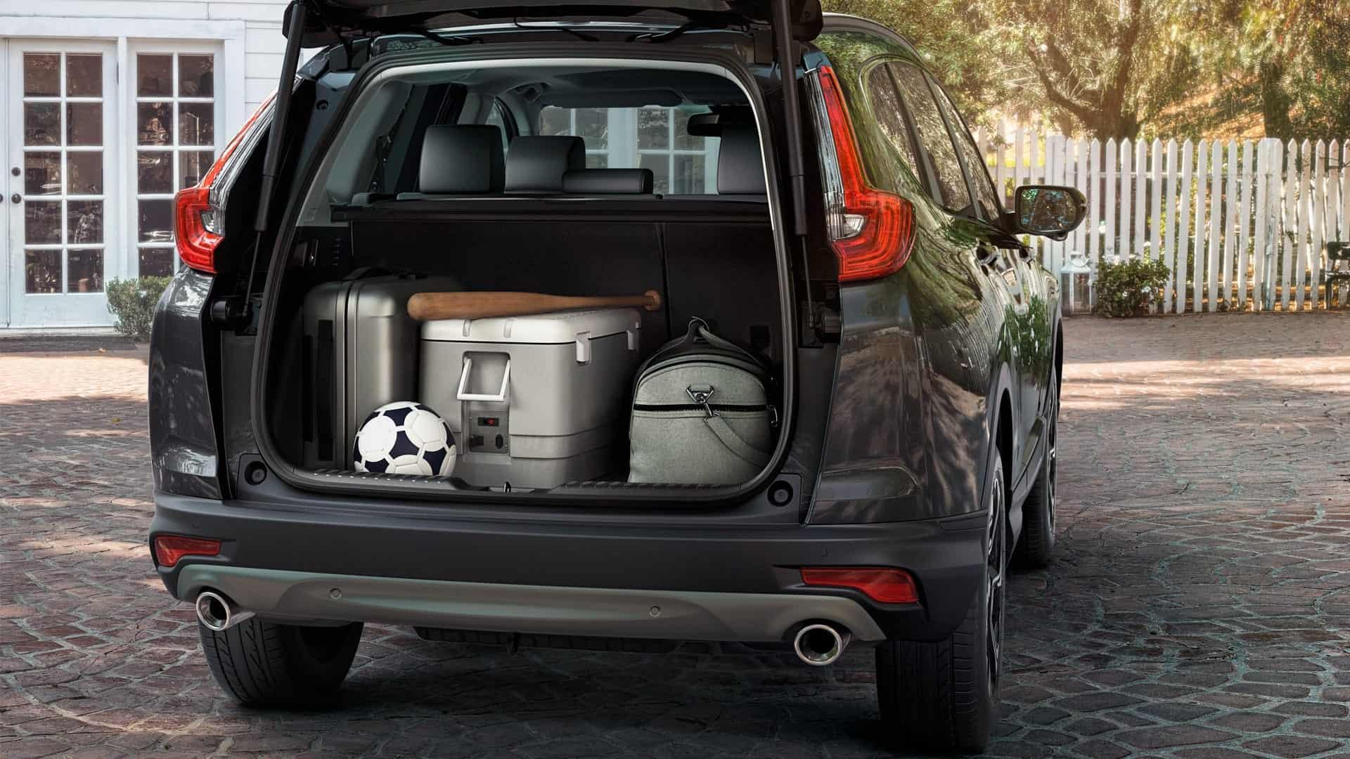 CR-V - Amplo porta-malas de 522 litros*
