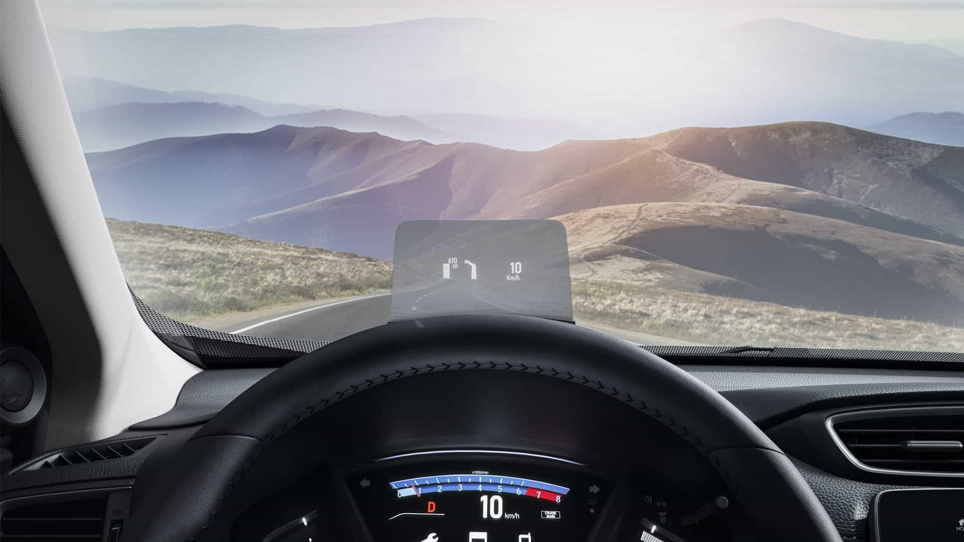 Honda Shori CR-V Head Up Display HUD 0