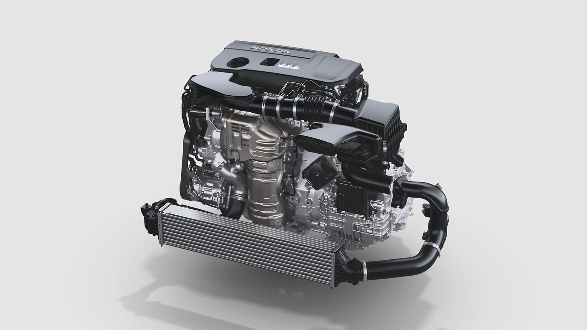 Accord - 2.0l Turbo 16V DOHC com Injeção Direta, DOHC, i-VTEC® de 4 cilindros