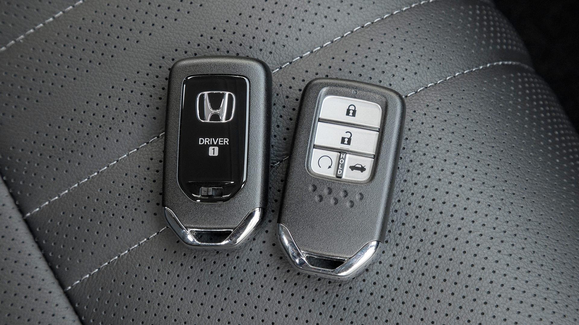 Accord - Chave Controle (Smart Key) com partida à distância