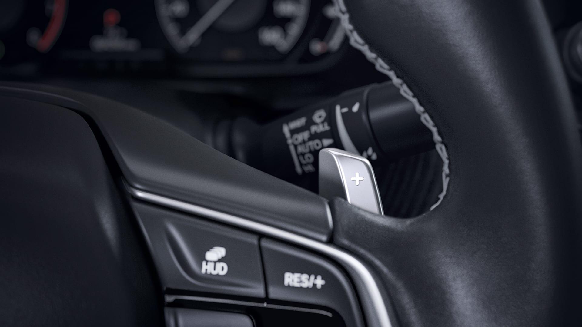 Accord - Trocas de marchas no volante (Paddle Shift)