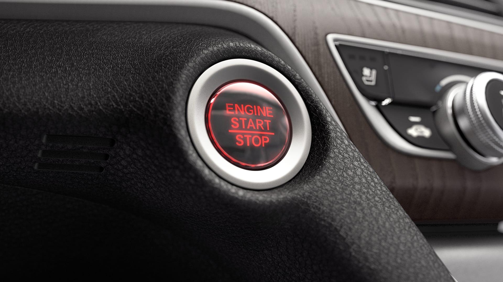 Accord - Botão de partida do motor Start/Stop