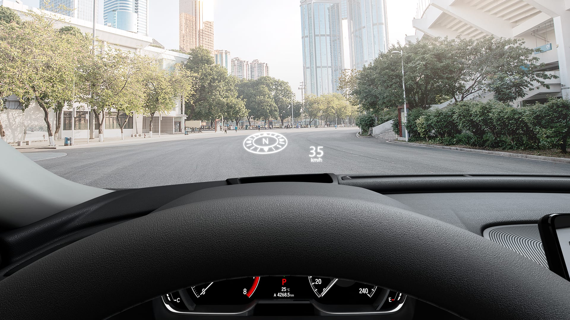 Accord - Head Up Display (HUD)