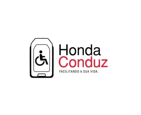 Honda Shori Pessoas com Deficiência logo honda conduz safe area 1