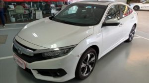 Honda CIVIC 1.5 16V TURBO GASOLINA TOURING 4P CVT 2019/2019