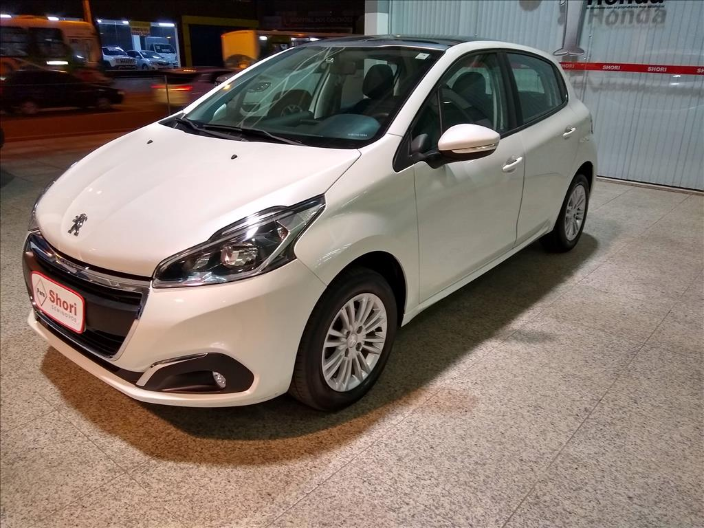 PEUGEOT 208 1.2 ALLURE 12V FLEX 4P MANUAL 2016/2017