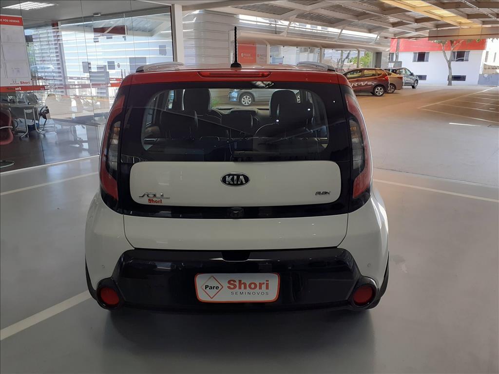 KIA SOUL 1.6 EX 16V FLEX 4P AUTOMÁTICO 2016/2017