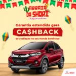 Honda Shori Honda Shori garantia estendida cashback jun