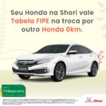 Honda Shori Honda Shori Shori tabela FIPE setembro