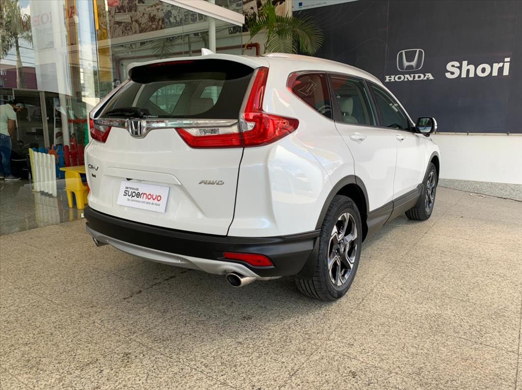 Honda CRV 1.5 16V VTC TURBO GASOLINA TOURING AWD CVT 2019/2019