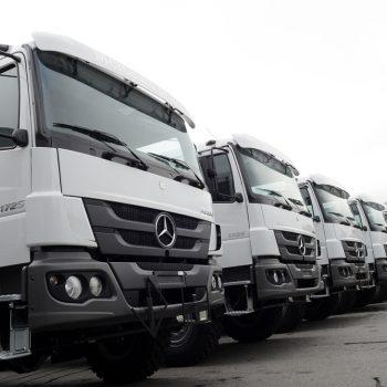 Venda de 20 caminhões para o Haiti
