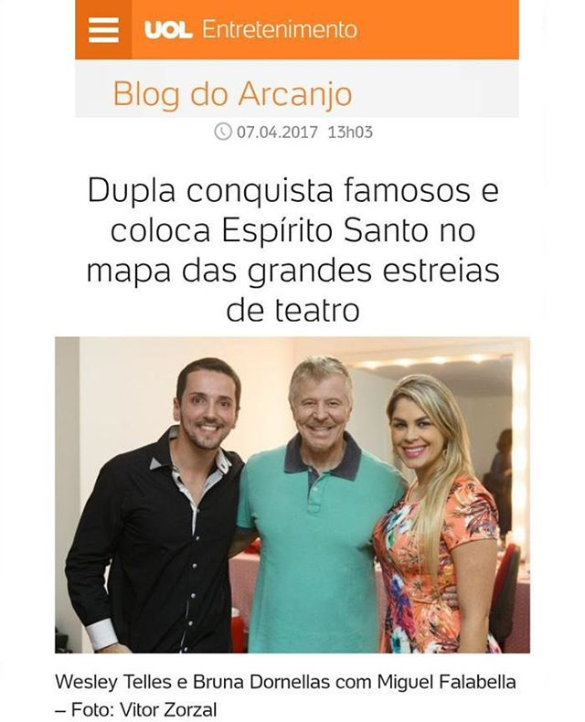 WB no UOL - Blog do Arcanjo