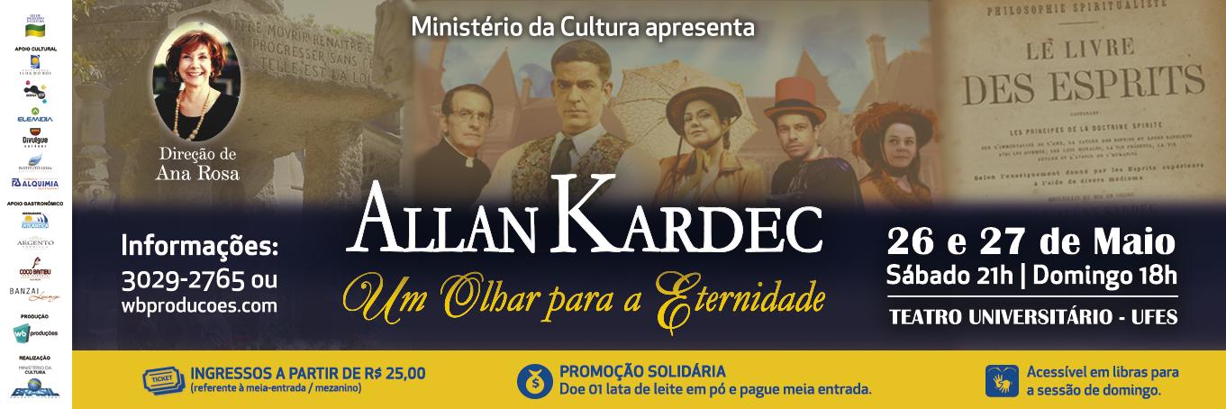 Allan Kardec – Um Olhar para a Eternidade