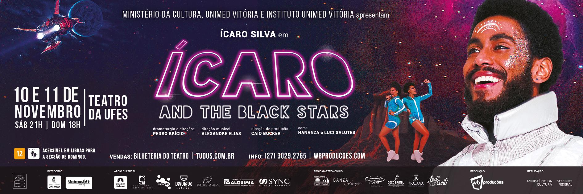 ÍCARO And The Black Stars
