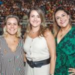 Ana Letícia Sarlo, Aline Schueller e  Elaine Peruch