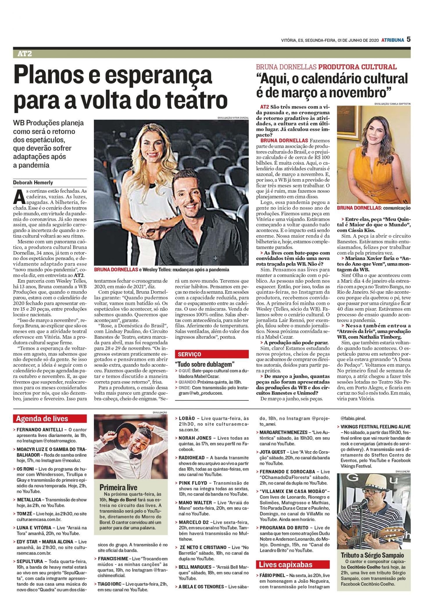Caderno AT2 - Jornal A Tribuna