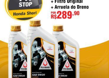 Oferta de Kit de Troca de Óleo Pro-Honda