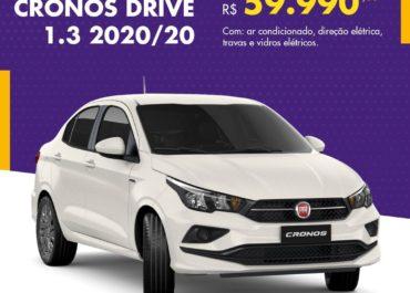 Cronos Drive por R$ 59.990,00*